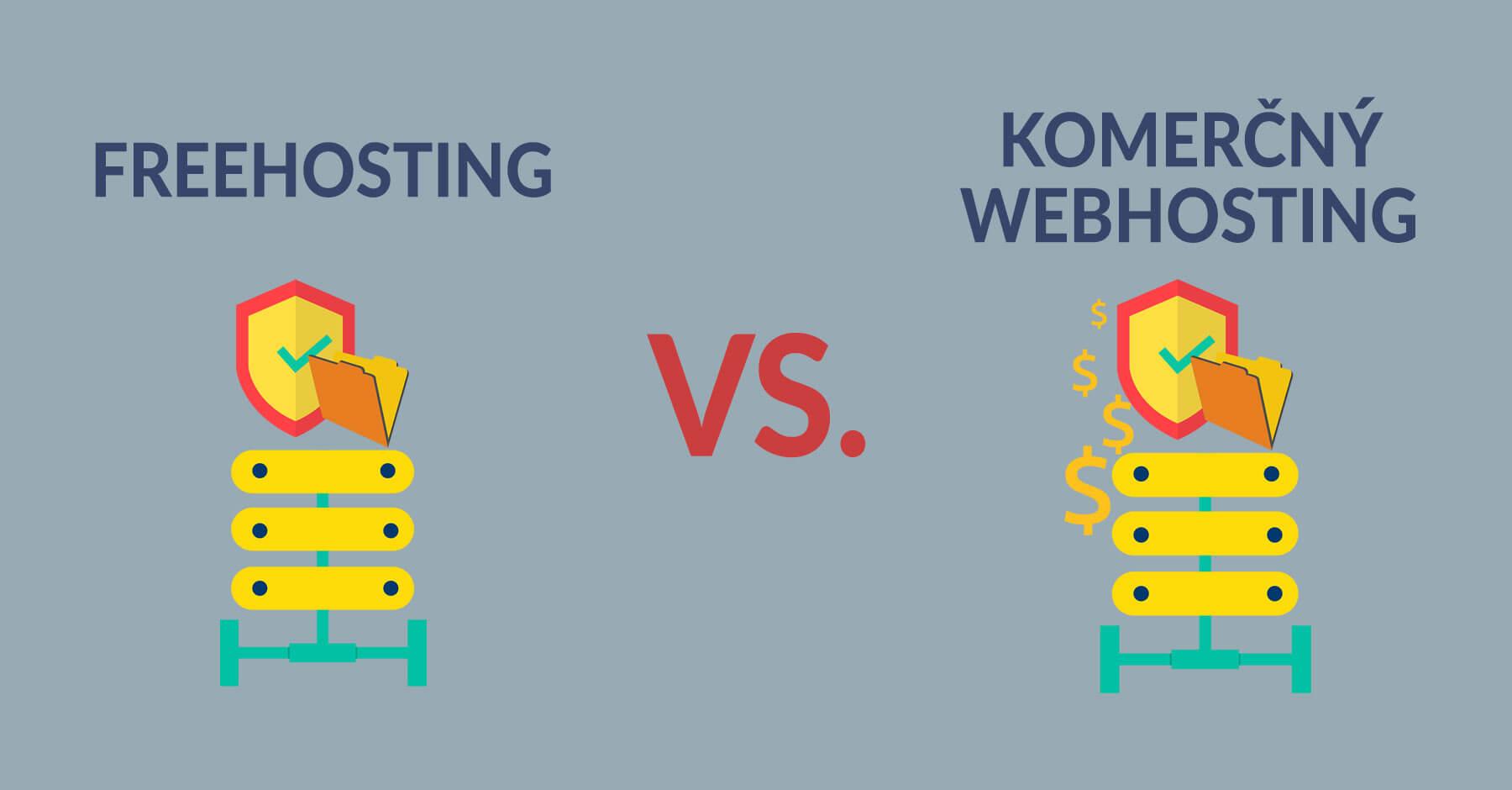 freehosting vs komercny webhosting