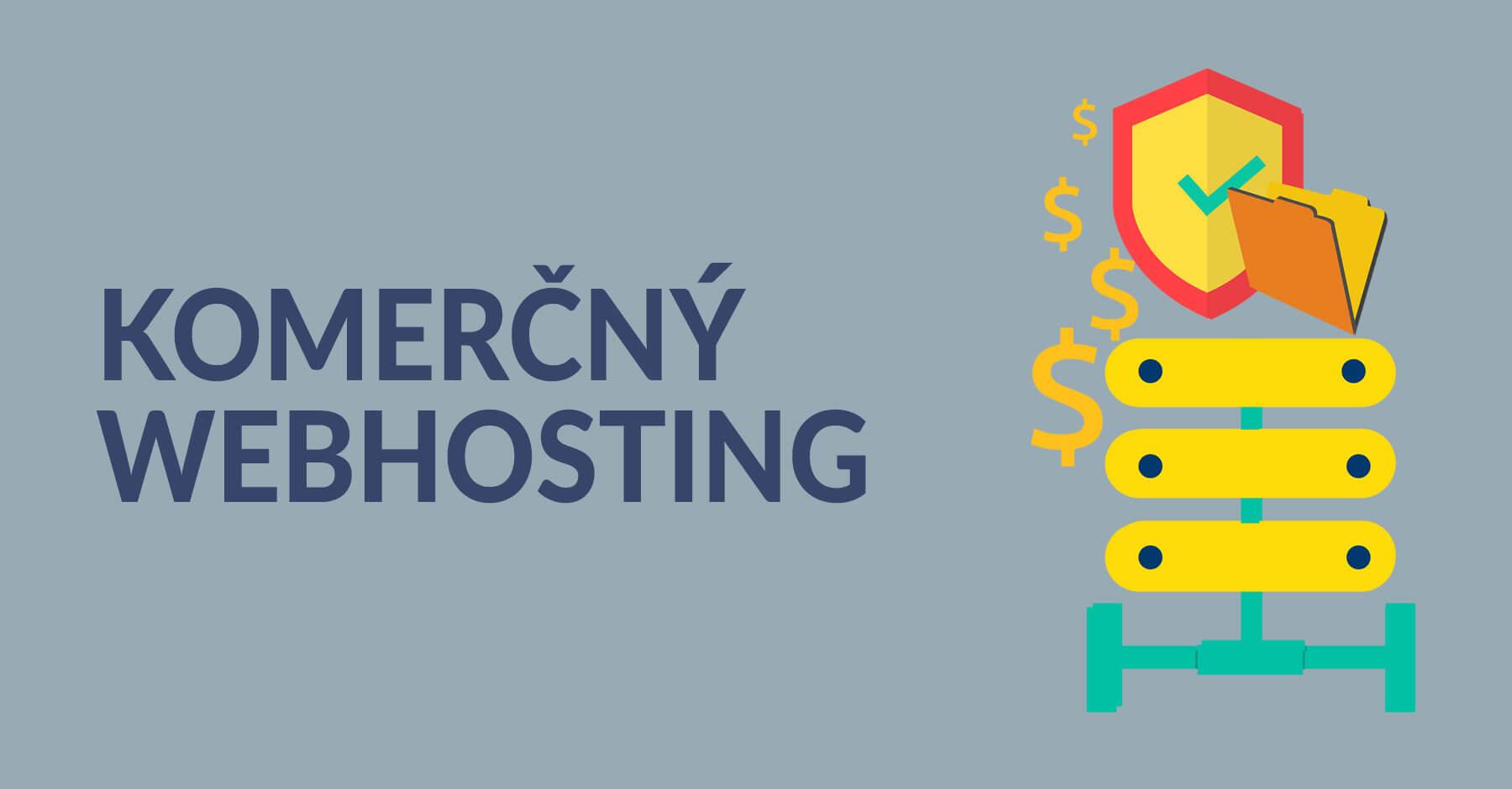 komercny webhosting