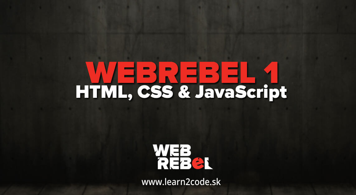 HTML/CSS/JavaScript WEBREBEL.